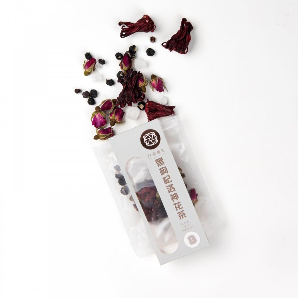 黑枸杞洛神花茶(單包裝)
