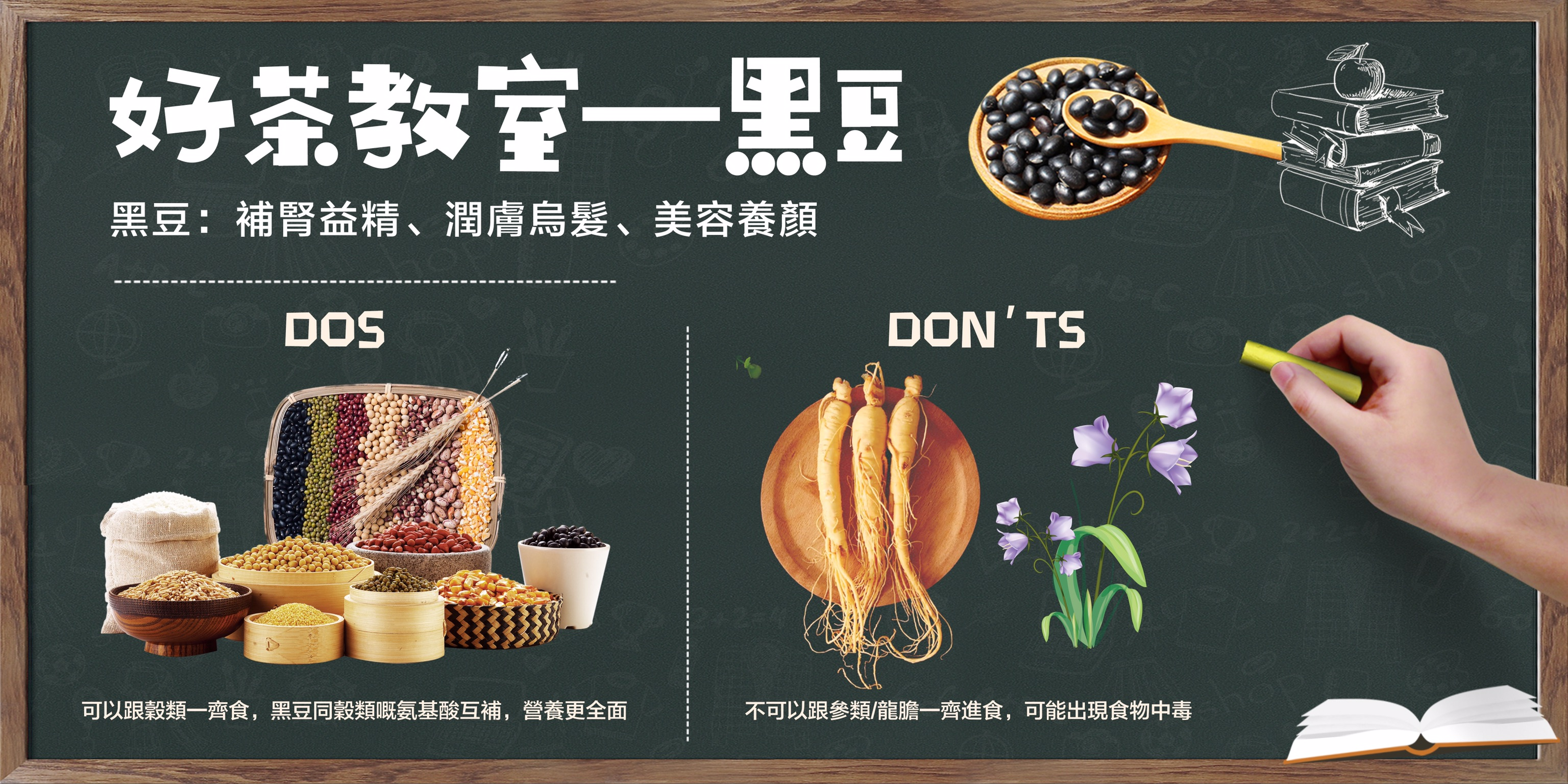 【教室 — 黑豆dos and don'ts】