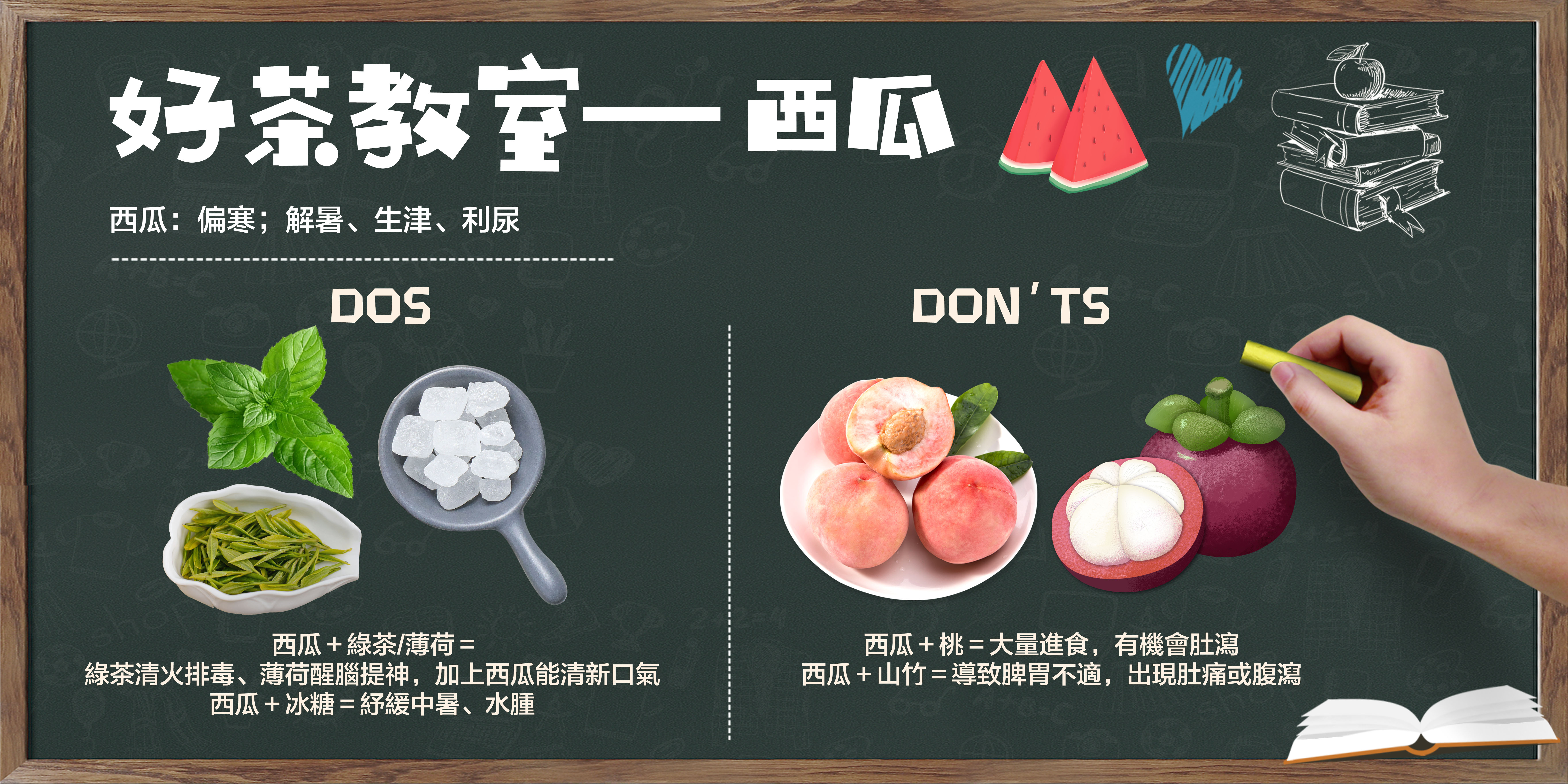 【好茶教室 —  西瓜dos & don'ts】